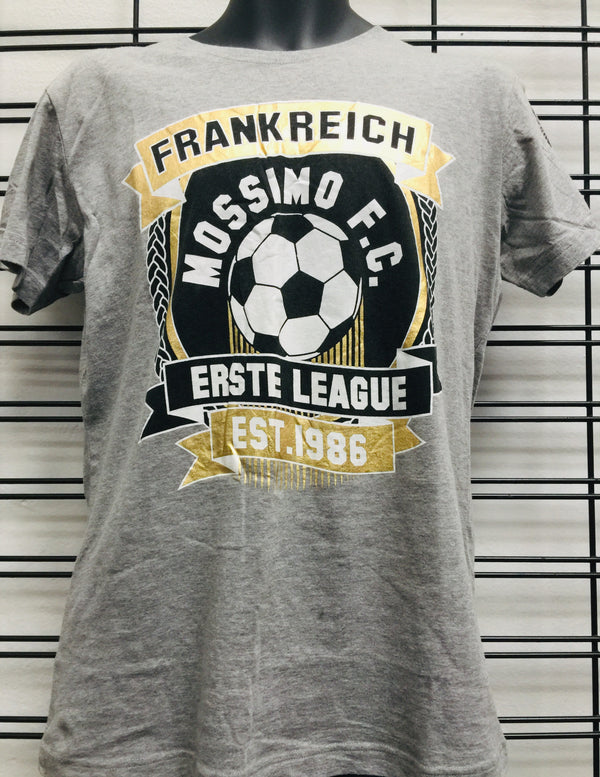 Mossimo SS Football Club Tee Grey Marle