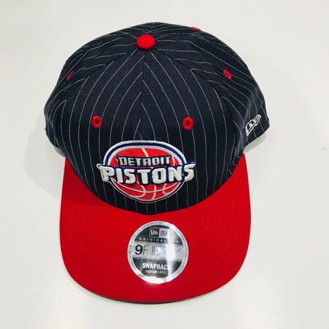New Era 950 Detroit Pistons Snapback Cap Navy and Red 11587535