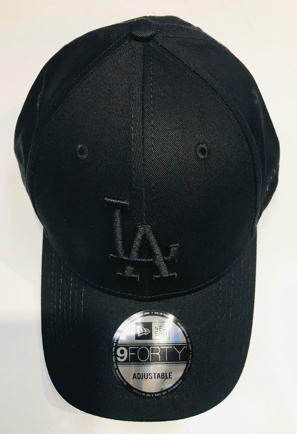 New Era 9Forty Los Angelese Dodgers Black Cap Famous Rock Shop Newcastle, 2300 NSW. Australia.