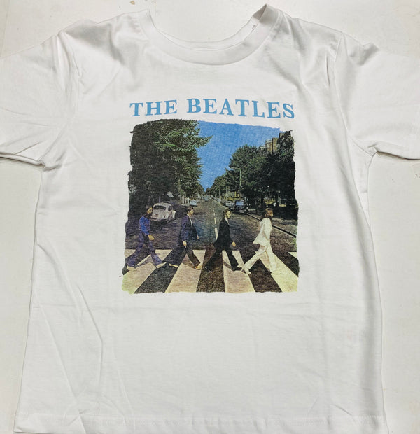 The Beatles Abbey Road Kid's Tee White