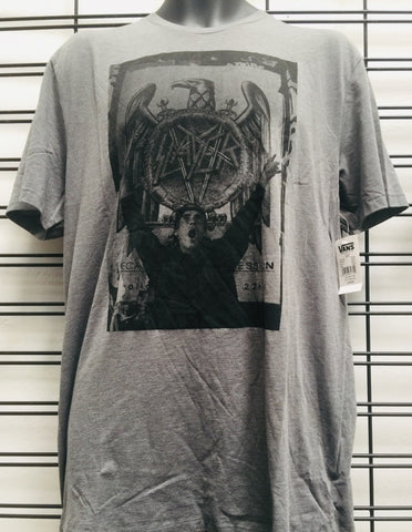 Vans John Cardiel Slayer Grey T Shirt