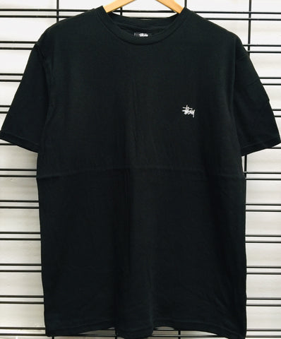 Stussy Graffiti Linen SS Tee ST1910042 Black Famous Rock Shop Newcastle 2300 NSW Australia