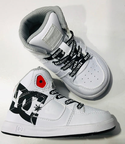 DC Shoes Pure High Top white black ADTS700053 Famous Rock Shop Newcastle 2300 NSW Australia