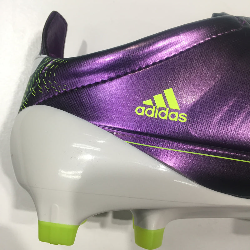 Adidas F50 Adidas TRX FG White and Multi Lionel Messi Boots