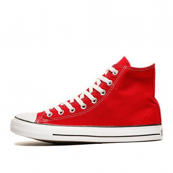 Converse Hi All Star Red Canvas Chuck Taylor