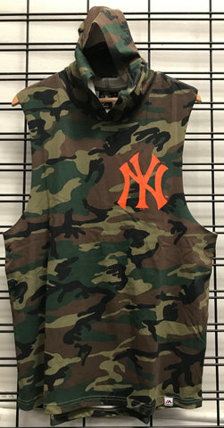 Majestic Athletic NY Yankees Vincennes Muscle Hood Woodland Camo MNY6566GX Famous Rock Shop Newcastle 2300 NSW Australia
