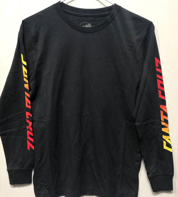 Santa Cruz The Original Fade Dot Long Sleeve Tee Youth Phantom SC-YLD8135