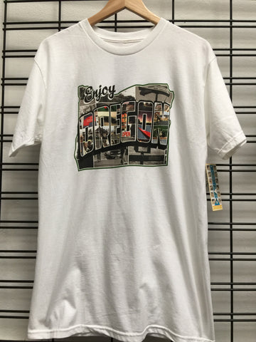 Etnies Enjoy Oregon S/S Tee White