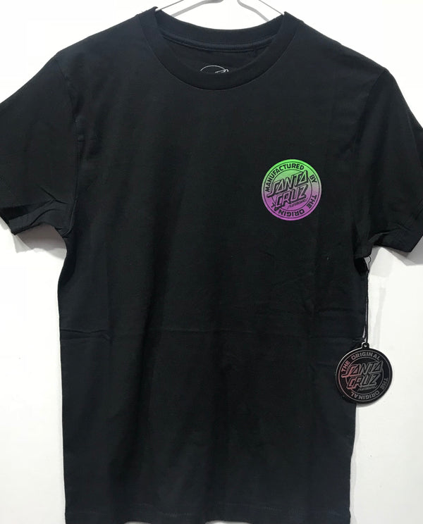 Santa Cruz Original Fade Dot tee Youth Black SC-YTD8123