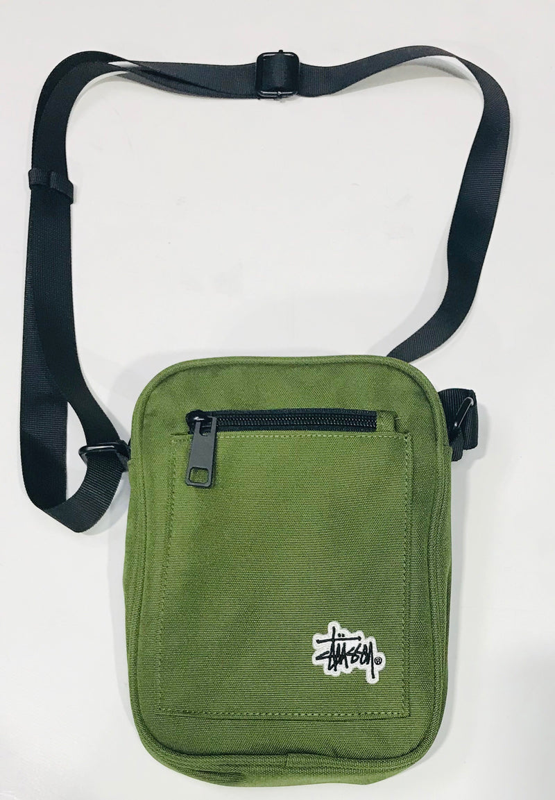 Stussy Graffiti Messenger Bag Military Green ST783013 Famous Rock Shop Newcastle 2300 NSW Australia