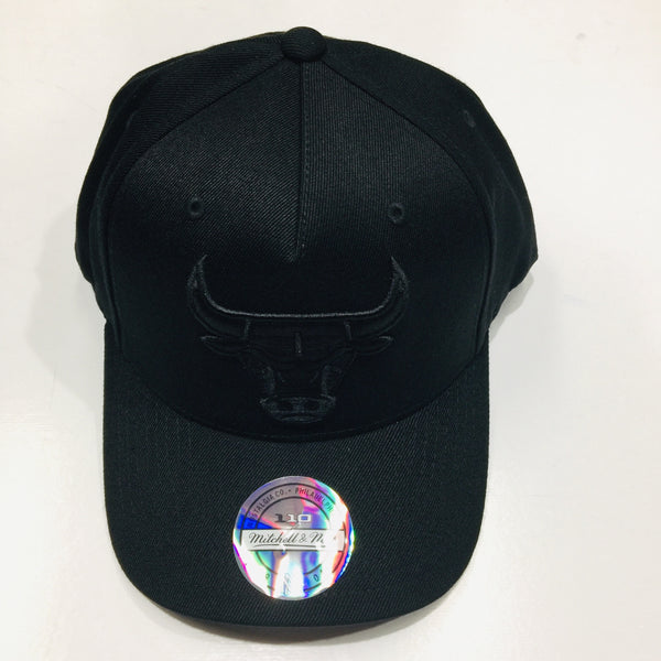Mitchell & Ness Chicago Bulls All Black Logo 110 Snapback CKO73  Famous Rock Shop Newcastle 2300 NSW Australia