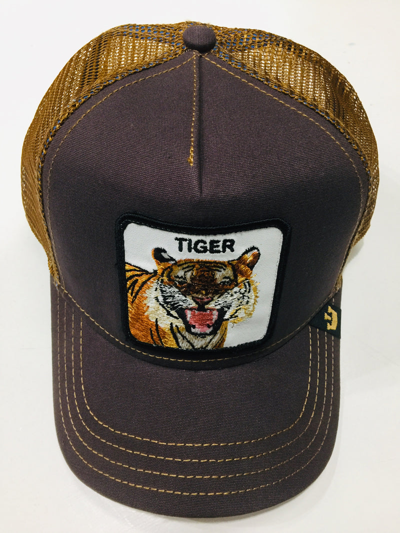 Goorin Bros Eye Of The Tiger Brown Tracker Hat