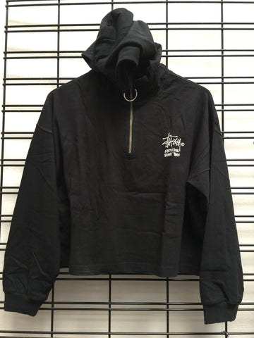 Stussy Connor Zip Up ST191113 Black Famous Rock Shop Newcastle 2300 NSW Australia