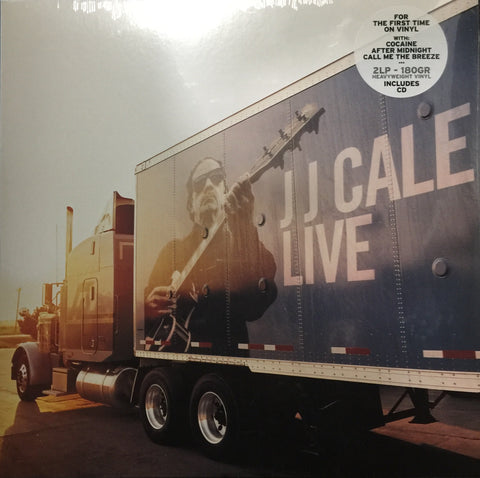 JJ Cale LIVE 2LP Set For The Firt Time On Vinyl Famous Rock Shop Newcastle 2300 NSW Australia