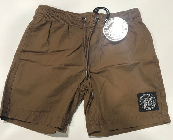 Santa Cruz Cruzier Solid Short Youth Dark Sand SC-YBNC262