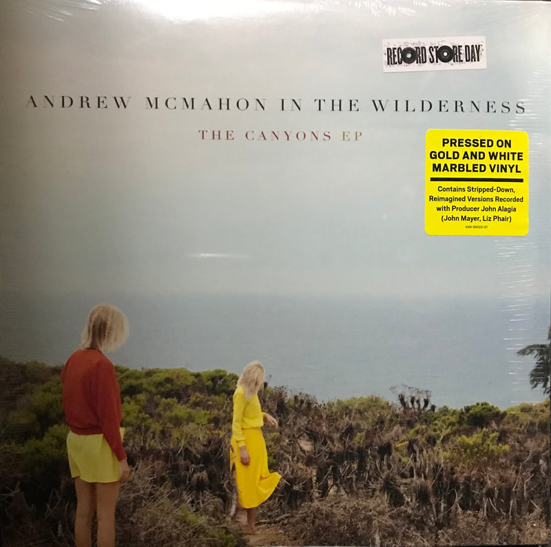 Andrew Mcmahon in the wilderness The Canyons EP LTD Record store day Famous Rock Shop Newcastle 2300 NSW Australia