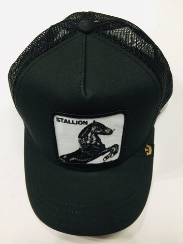 Goorin Bros Stallion Black 1SFM Trucker Caps