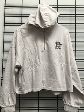 Stussy Connor Zip Up ST191113 White Sand Famous Rock Shop Newcastle 2300 NSW Australia