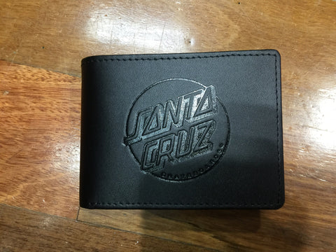 Santa Cruz Classic Dot Slim Leather Wallet