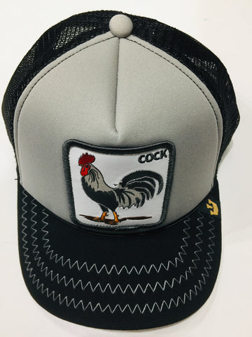 Goorin Bros Checkin Traps Grey 1SFM Trucker Caps