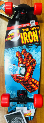 Santa Cruz Skateboard The Invincible Iron Man Famous Rock Shop Newcastle 2300 NSW Australia