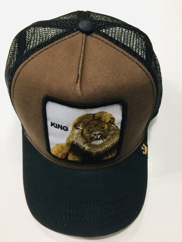 Goorin Bros King Brown 1SFM Trucker Caps