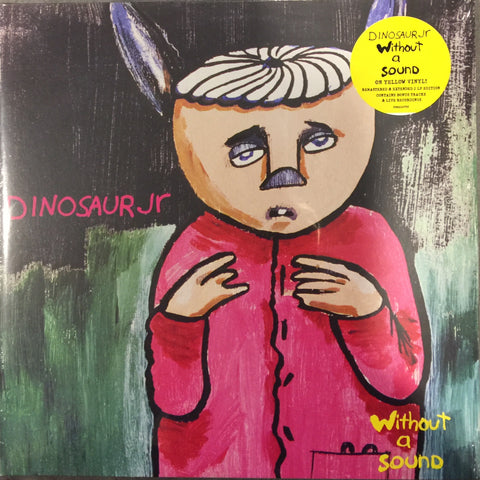 Dinosaur JR Without a Sound Expanded Edition Limited Yellow 2LP Vinyl