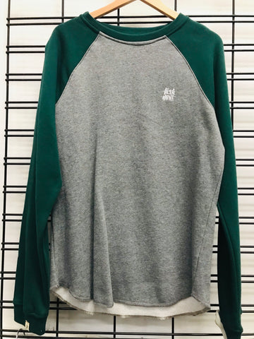 Altamont Baseball Crew Men's Green Jumper