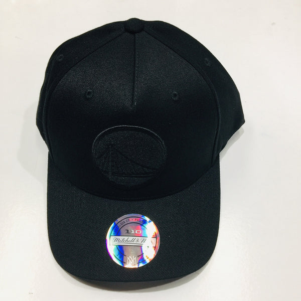 Mitchell & Ness Gs Warriors All Black Logo 110 Snapback CKO73 Famous Rock Shop Newcastle 2300 NSW Australia
