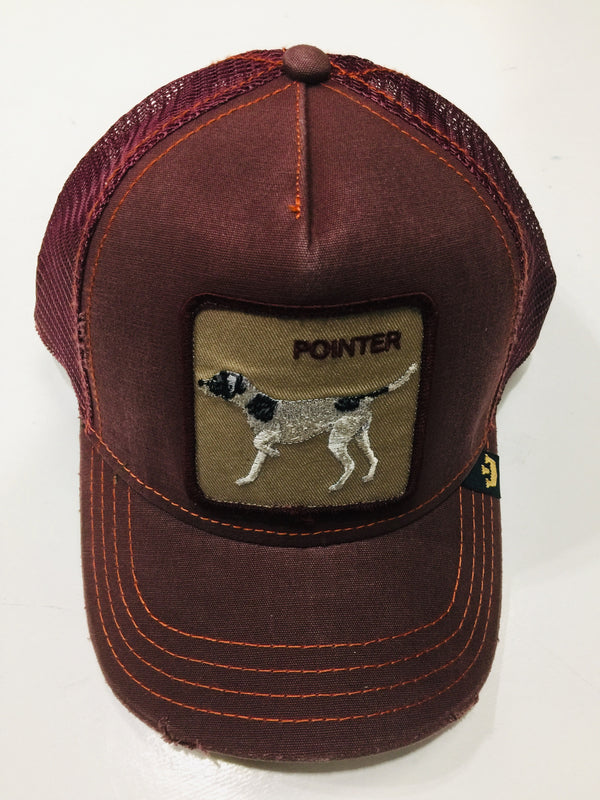 Goorin Bros The Pointer Wine Trucker Hat