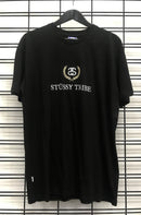 Stussy Link Wreath SS Tee Black