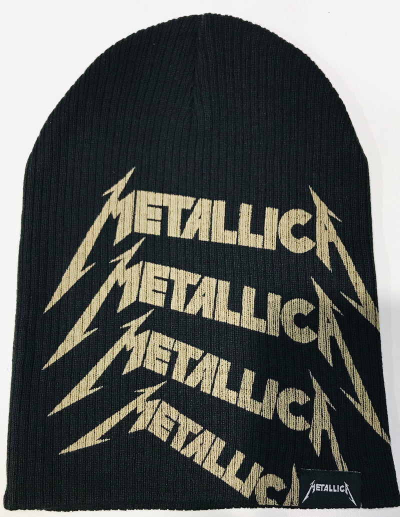 Metallica Repeat Logo Beanie