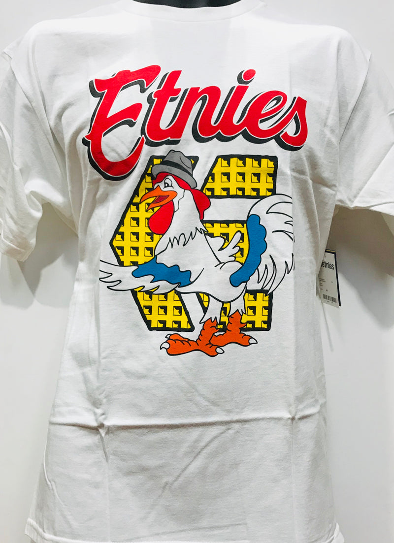Etnies Red Rooster White Tee