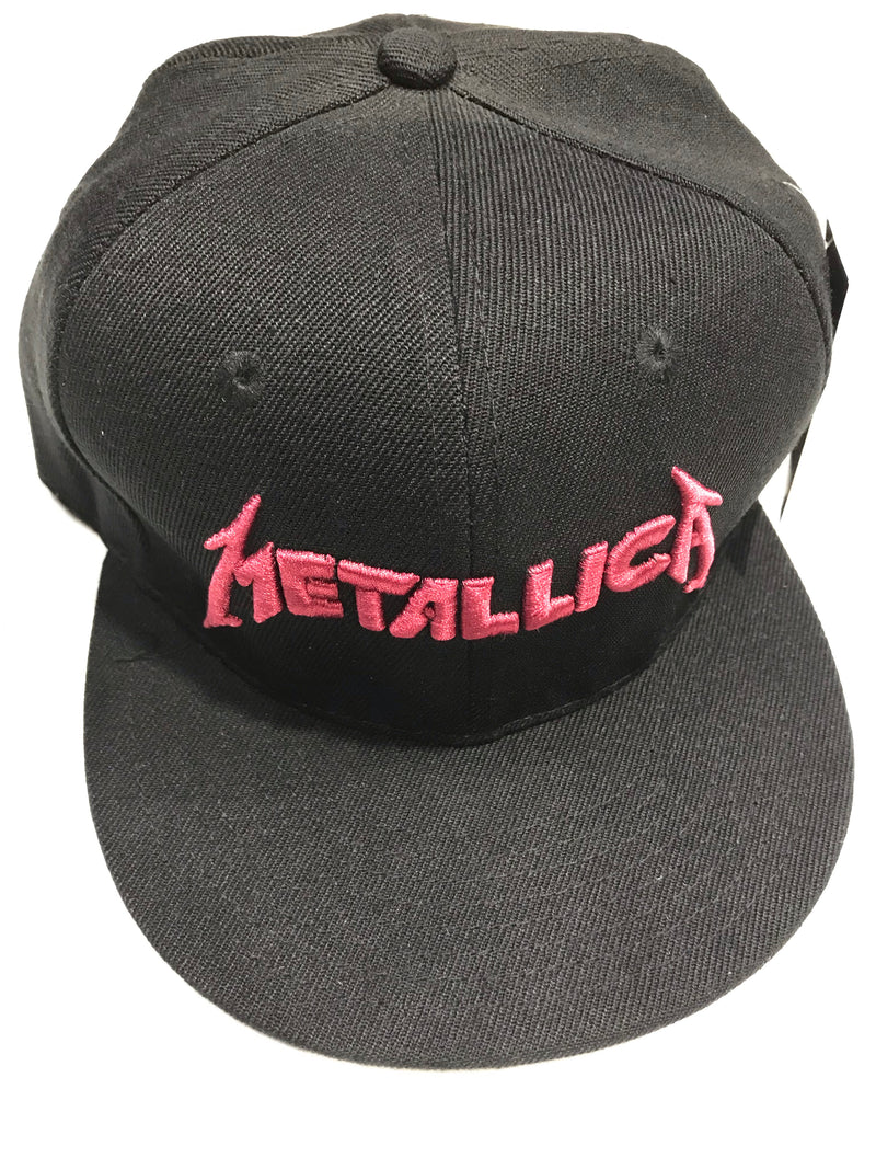 Metallica Mop Cover Black Snapback