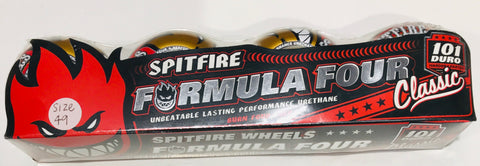 Spitfire Wheels Formula Four Unbeatle Lasting Performance Urethane Burn Four Ever size 49mm Famous Rock Shop Newcastle NSW Australia