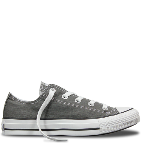 Converse Ox Charcoal Canvas Low Chuck Taylor All Star Sneakers