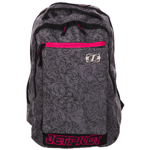 Jetpilot Grey Backpack with Swirls