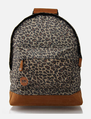 Mi Pac Custom Print Leopard Backpack