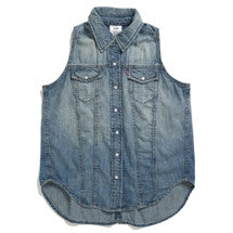 Levi's Vest Denim Soft