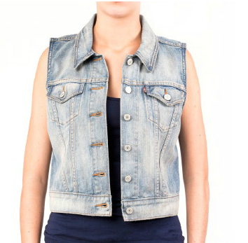 Levi's Women's Denim Vest 770740016