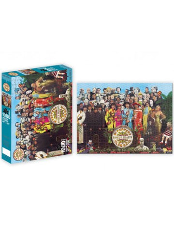 "The Beatles Sgt Peppers Poster Jigsaw Puzzle (20""x27"")"