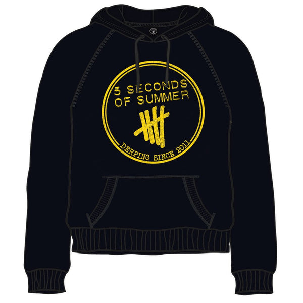 5 Second of Summer Hoodie: Derping Stamp Famous Rock Shop Newcastle 2300 NSW Australia
