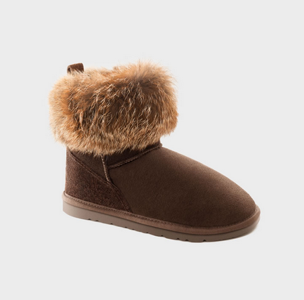 Ugg Australia Mini Fox Chocolate Ugg Boots