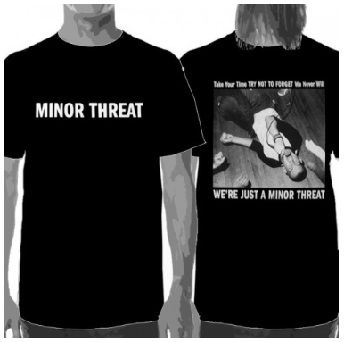Minor Threat T-Shirt We're Just A Minor Threat -Youth