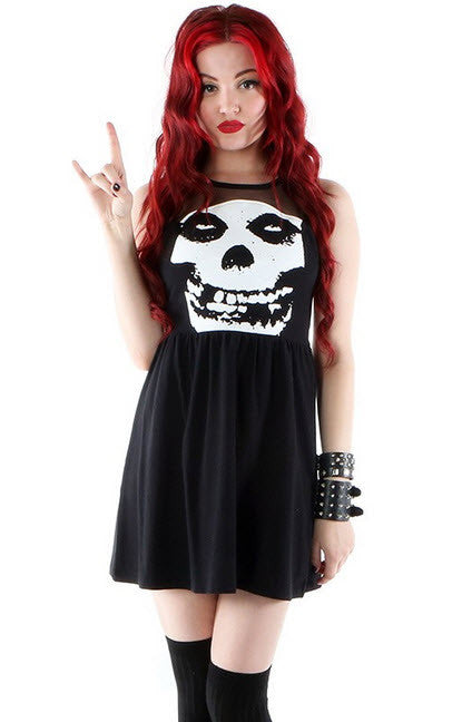 Iron Fist Misfits Mesh Dress Black