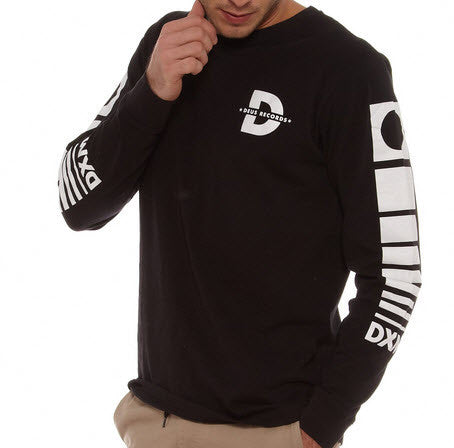 Deus Ex Machine Monochrome Long Sleeve Black