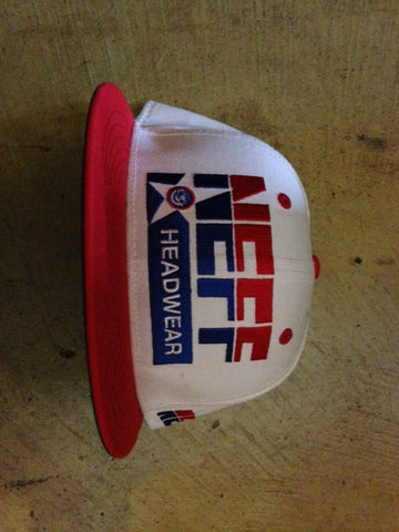 Neff Dream Cap White/ Red Snapback