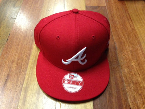 New Era 9Fifty Snapback Cap Red