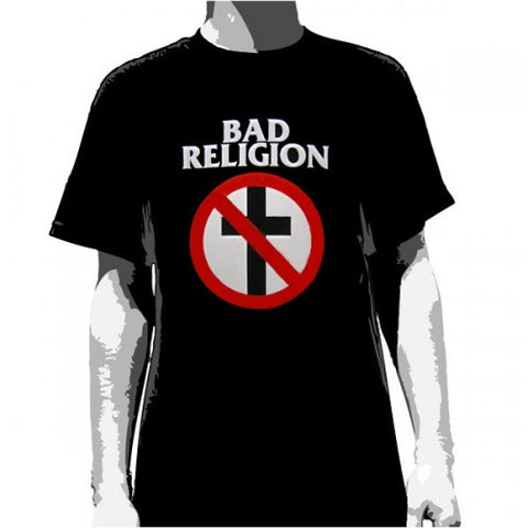 Bad Religion No Cross T-Shirt Famous Rock Shop. 517 Hunter Street Newcastle, 2300 NSW.Australia