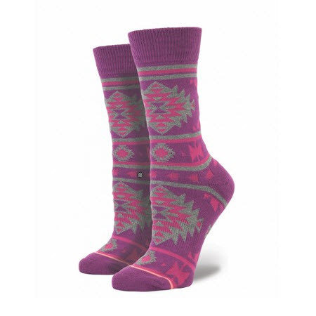 Stance Nu Native Plum Women's Socks (One Size)